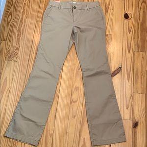NWT Old Navy Boot Cut Khaki Pants